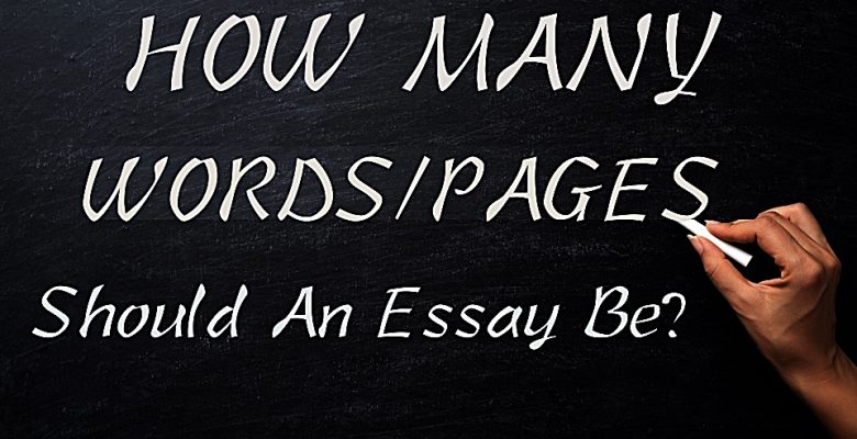 How Many Words Pages Should An Essay Be Best Essay Services Com